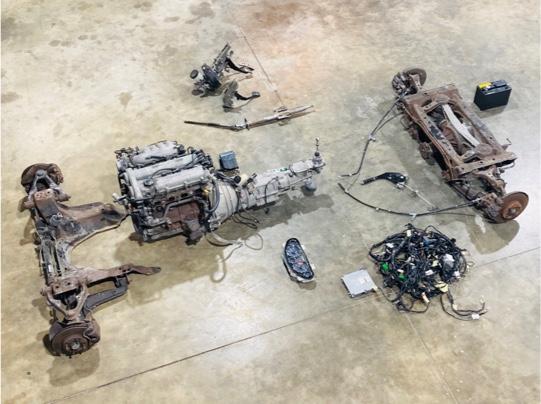 Donor car parts